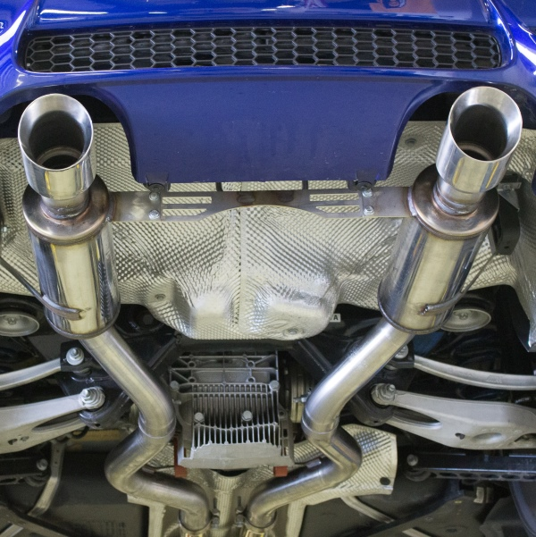 BimmerWorld E9X M3 Race Exhaust by MagnaFlow