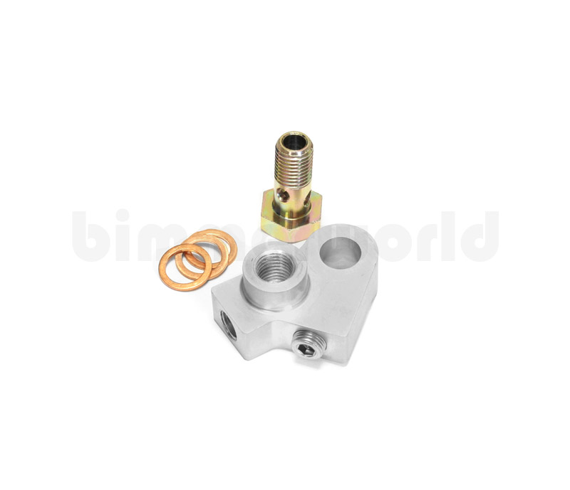 BimmerWorld Oil Distribution/Sending Block