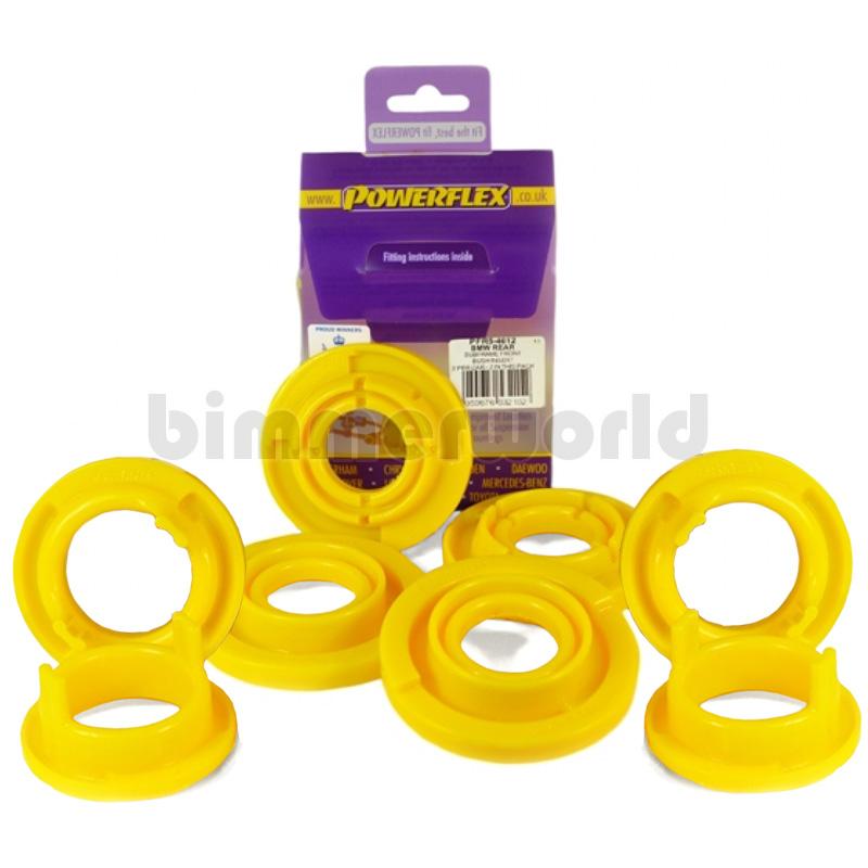Powerflex Urethane Rear Subframe Inserts - E46 M3, E85 Z4M