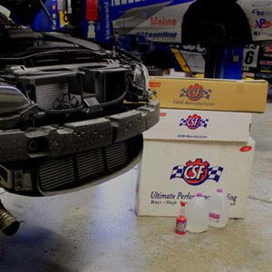 E92 M3 CSF Cooling Package
