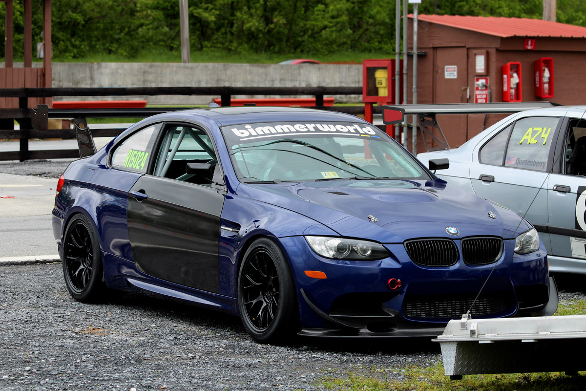E92 M3 Pikes Peak Hill Climb Car