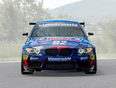 BMW E92 M3 Pikes Peak Car