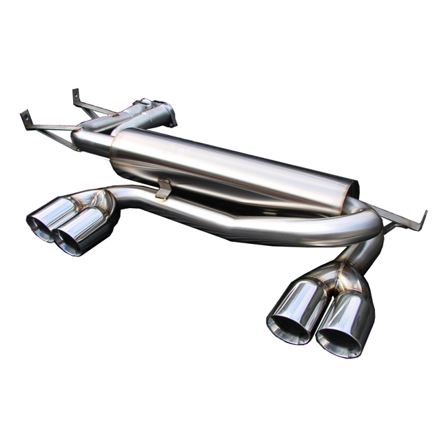 Bmw Z4m Exhaust: AFe Twisted Steel Header (Catted Version)