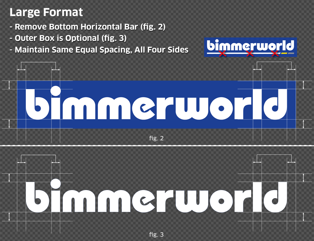 BimmerWorld Style Guide Large Format