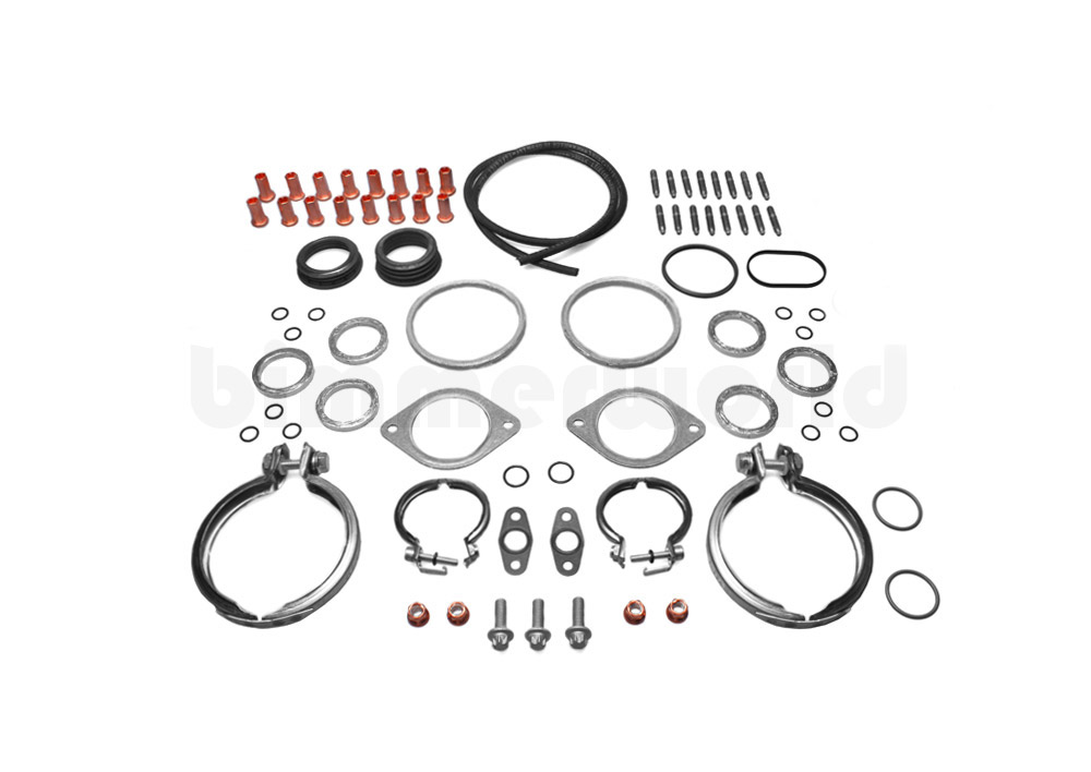 Turbo Overhaul Gasket & Hardware Kit, OEM - E82 135i, E9X 335i N54
