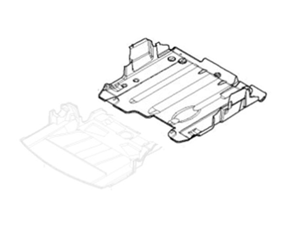 Undertray Splash Panel Rear