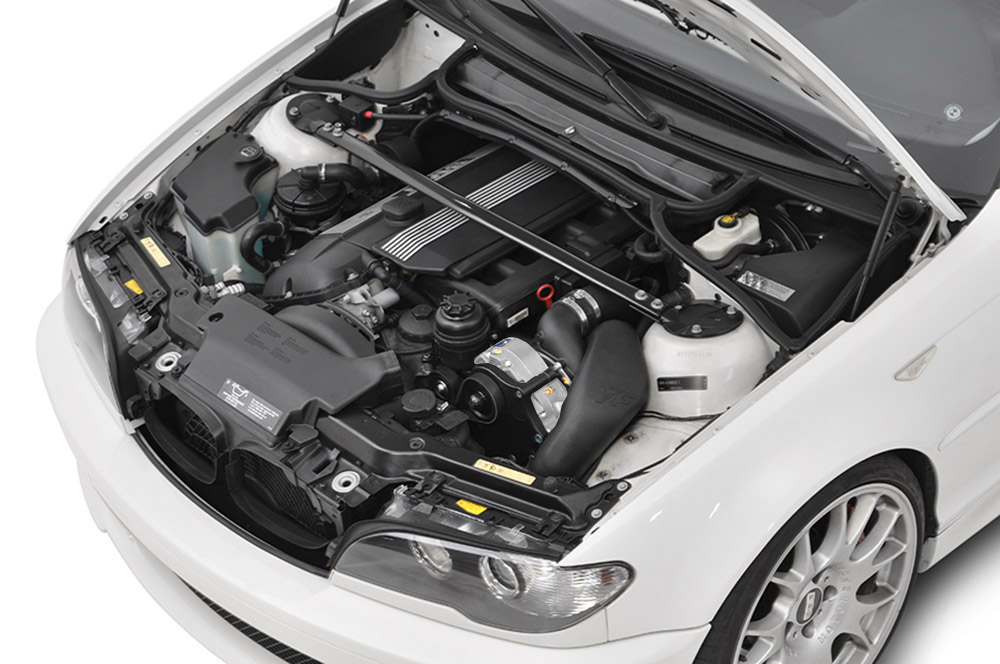 Vf Engineering Bmw E I Supercharger System Engine Bay on Bmw E46 Cooling System Diagram