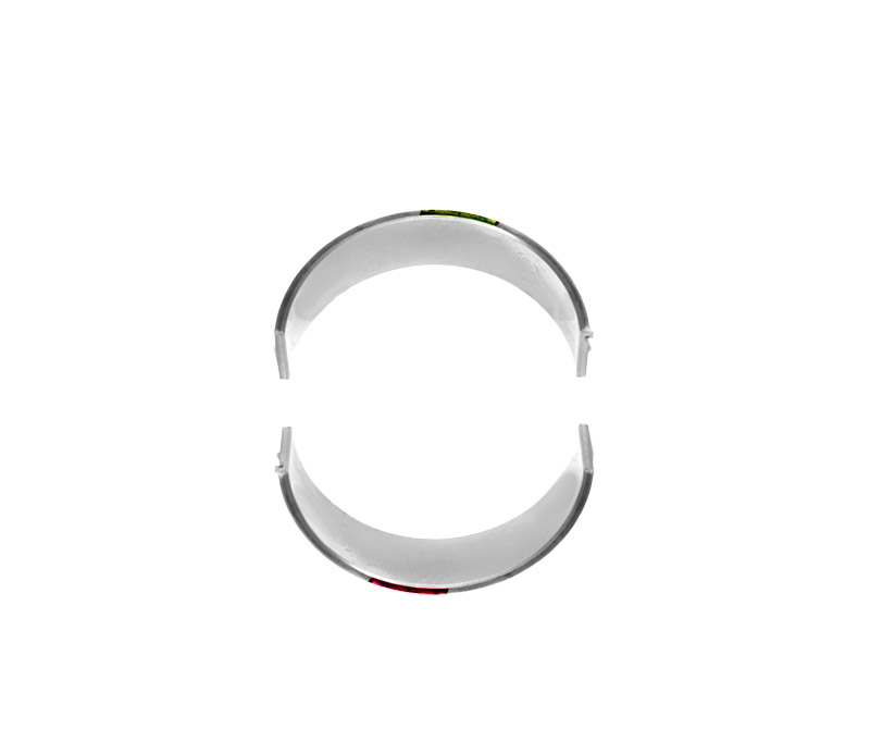 WPC Treated Rod Bearings (1 Rod), Yellow/Red - N20, N54, N55, S55