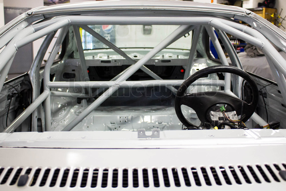 BimmerWorld E46 Coupe Roll Cage Kit with X Door Bars
