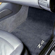 For BMW E85 Z4 2.5i 3.0i Pair Set Of Front /& Rear Brake Pads /& Sensors Genuine