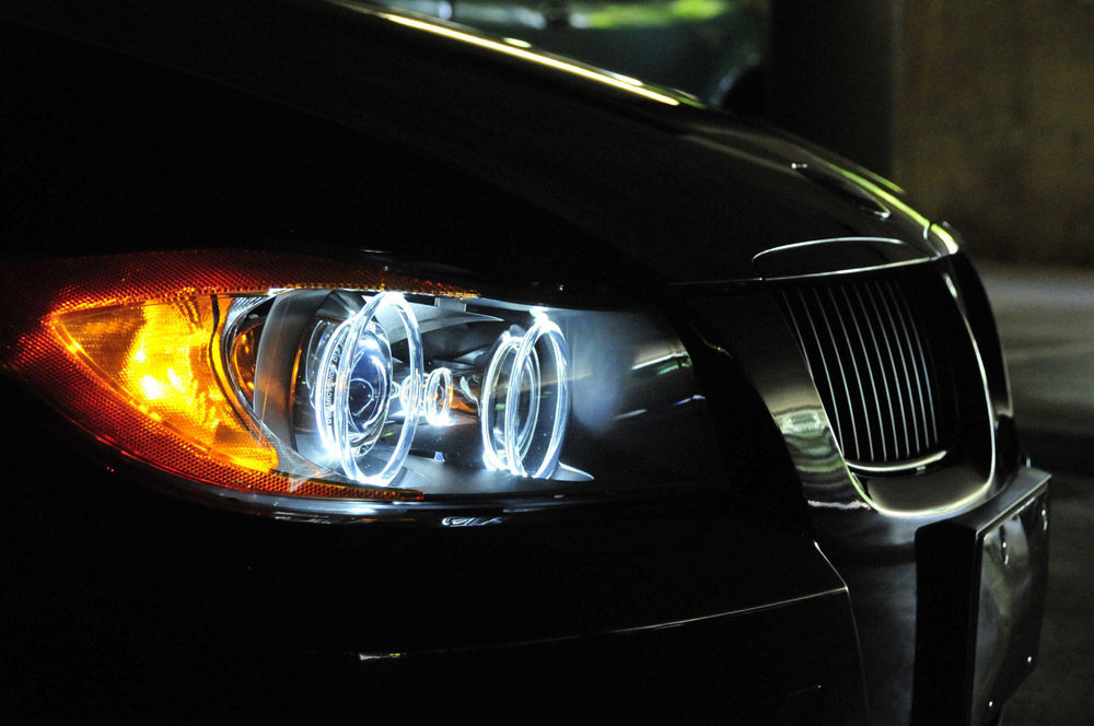 Bmw 325i For Sale >> LUX Angel Eye Upgrade Bulbs - E90 2006-2008 with Xenon Lights