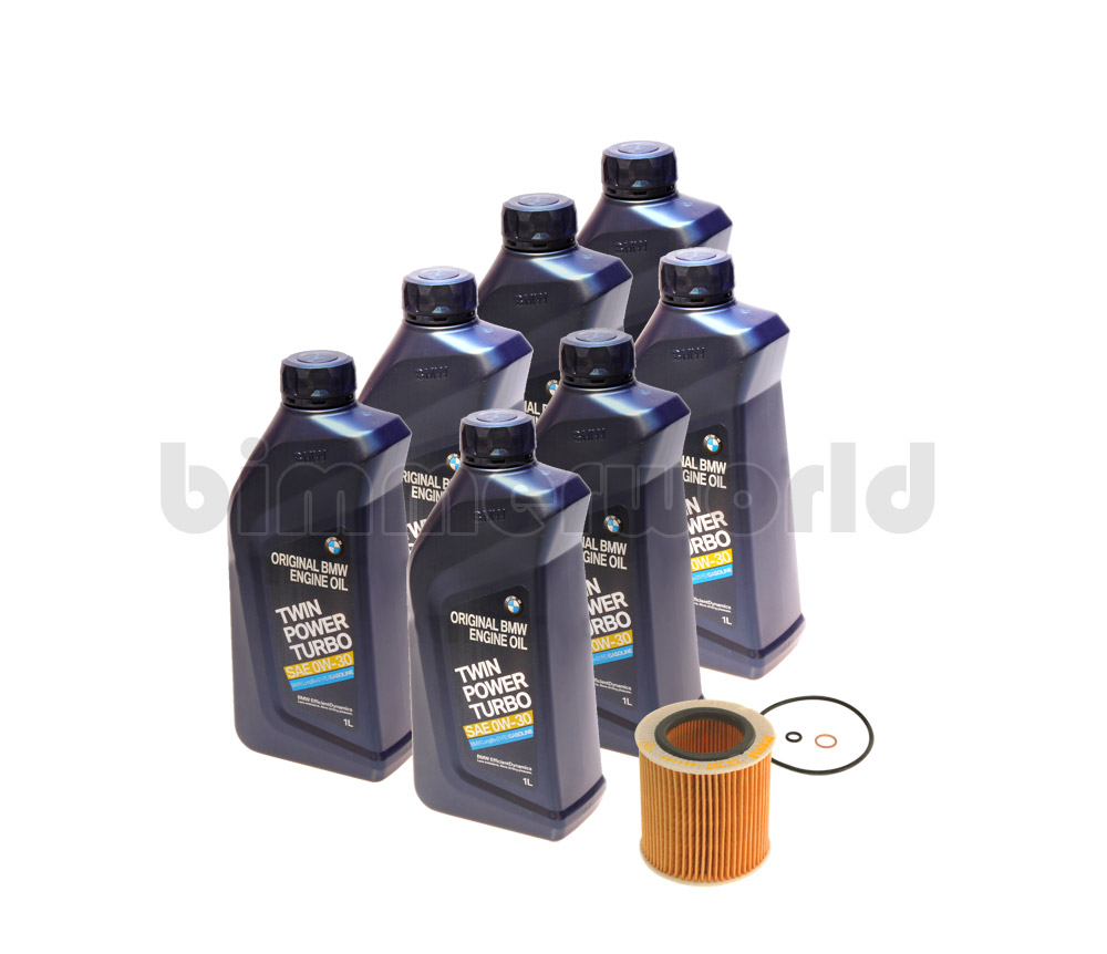 Bmw 0w30 Oem Oil Change Kit