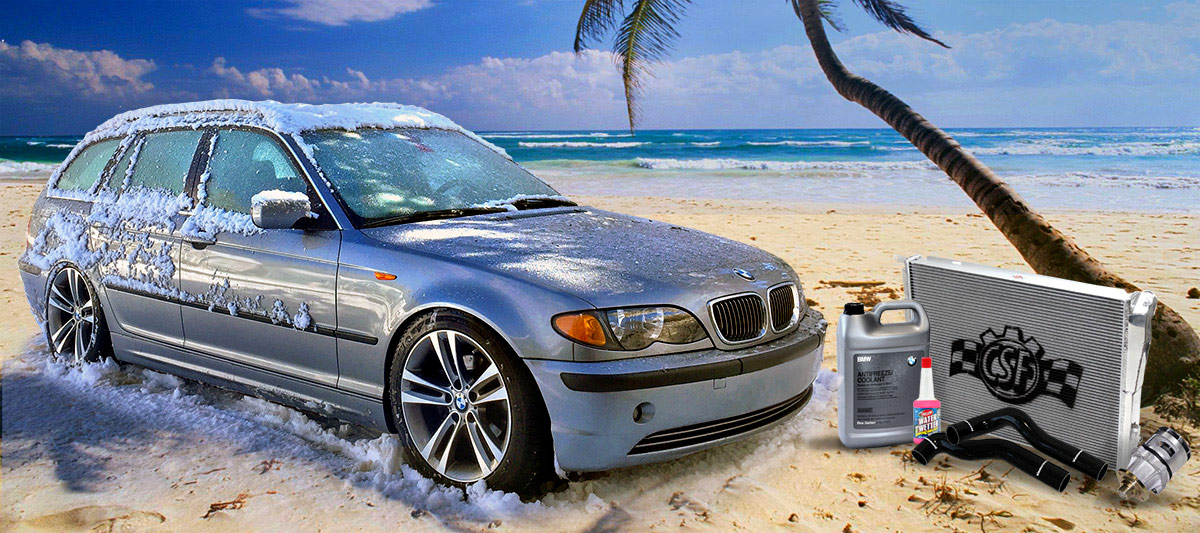 BMW Cooling Parts - Radiators, Water Pumps, Hoses, Coolers