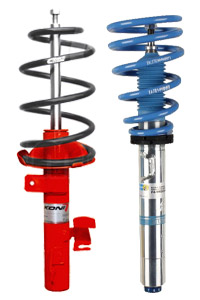BMW coil overs vs shocks